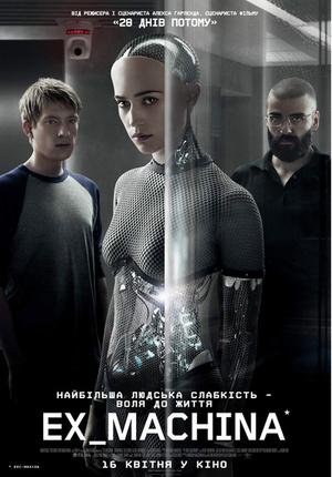 Фільм «Із машини» (2015)